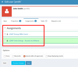 Extending LDAP account with posixAccount attributes and group membership