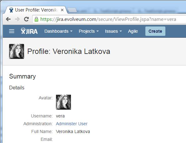 jira profile