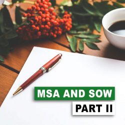 Open Source and Contracts: MSA and SOW, Part II