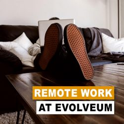 Working remotely at Evolveum